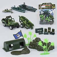 Военный игровой набор Small Toys 8636 А 2-52718, КОД: 1681783