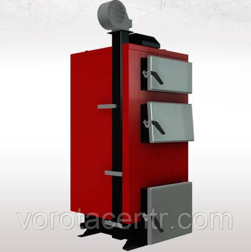 Твердотопливный котел  длительного горения Альтеп (Altep) КТ-1Е, 38 кВт