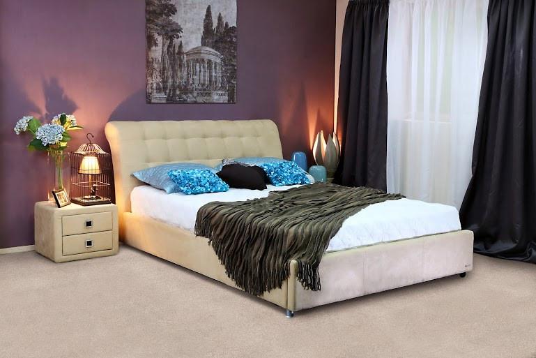 Кровать Coffe Time 1600  (карамель) без подъемного механизма