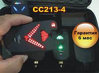FA213-4 Уценка!!! набор электронных беспроводных сигнализаторов поклевки с радио пейджером, фото 1