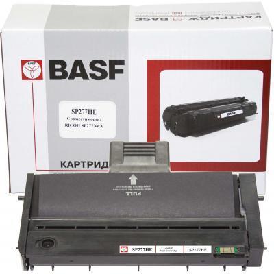 Тонер-картридж BASF Ricoh Aficio SP SP277NwX, 408160 Black (KT-SP277HE)