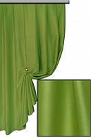 Ткань Блэкаут Однотонный зеленный №2012