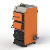 Твердотопливный котел с электронной автоматикой и вентилятором KOTLANT серии КГУ - 16 кВт (КОТЛАНТ), фото 1