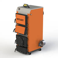 Твердопаливний котел з електронною автоматикою та вентилятором KOTLANT серії КДУ - 16 кВт (КОТЛАНТ)