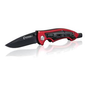 Нож складной 206 мм, ручка алюминий + пластик, 4 отверточные насадки., HT-0592 INTERTOOL
