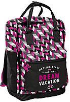 Рюкзак-сумка Paso Розовый BAE-020, КОД: 1640751