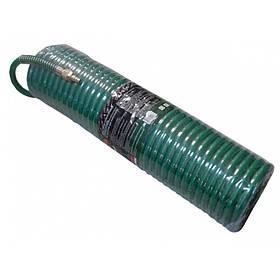 Шланг витой полиуретановый 10мм х 14мм х 15м с швидкорозьемамы (латунь, максимальное давление - 15bar,