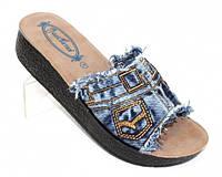 Шлепанцы на удобном каблуке, фото 1
