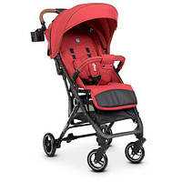 Коляска детская ME 1039L IDEA Crimson (1шт) прогулочная,книжка,колеса 4шт, чехол, лен, красный, фото 1