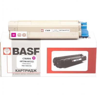 Тонер-картридж BASF OKI C5650/5750 Magenta 43872306/43872322 (KT-C5650M)