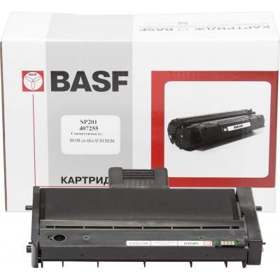 Тонер-картридж BASF Ricoh Aficio SP201/SP203/SP204, Black 407255 (KT-SP201-407255)