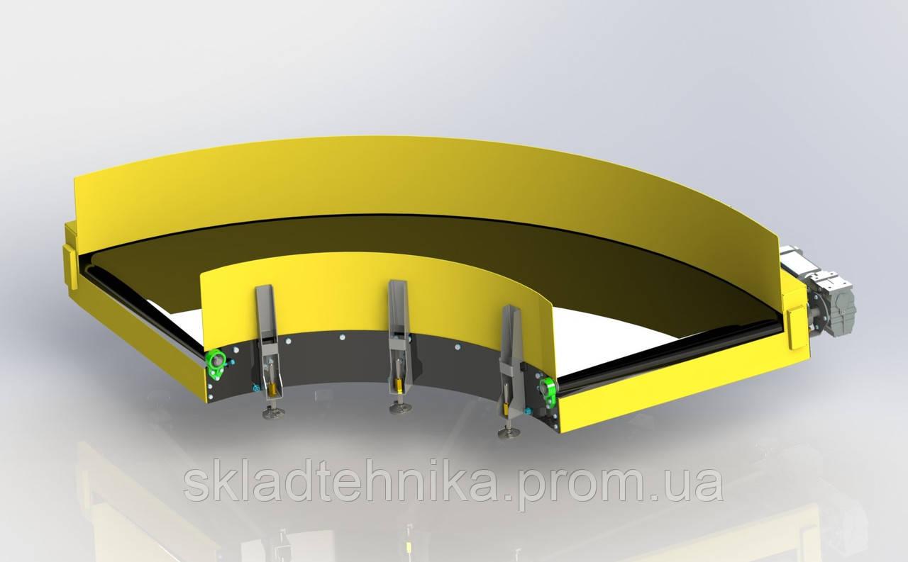 Поворотный транспортер на 180 градусов ремонт конвейеров скребковых