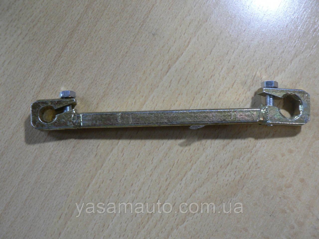 Ключ прокачки тормозов 7х11 зажимной толщина 8мм Украина КООП