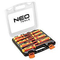Набор отверток NEO 1000 В, 9 шт. (04-142)