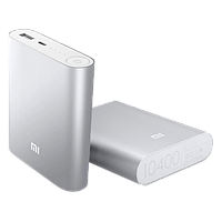 Xiaomi Power Bank Xiaomi Mi 10400 mAh Серебро (ВК1033)