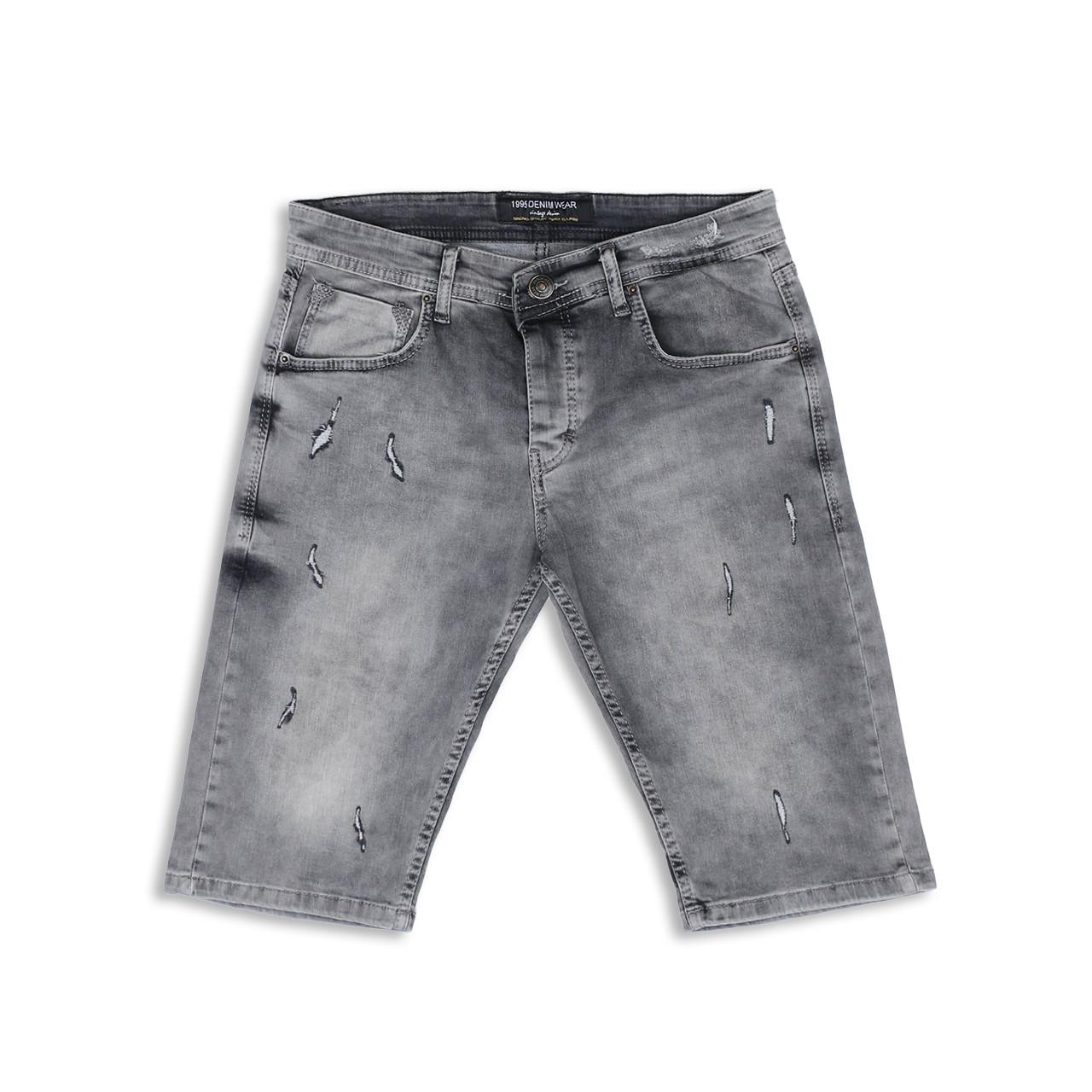 Бриджи джинс серый MARIO FUME 29(Р) 0126