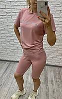 Спортивный женский костюм летний 2346 рус