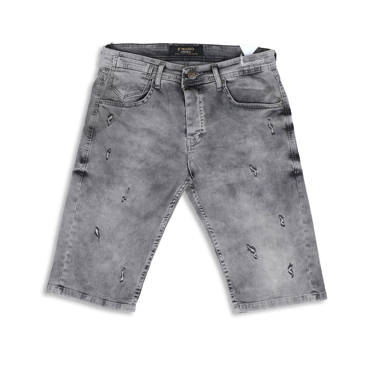 Бриджи джинс серый MARIO FUME 29(Р) 0124
