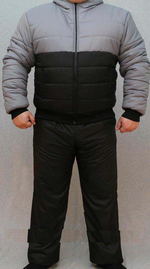 """Стильний зимовий, теплий, чоловічий костюм на синтепоні """"Стильний"""""""
