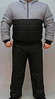 """Стильний зимовий, теплий, чоловічий костюм на синтепоні """"Стильний"""", фото 1"""