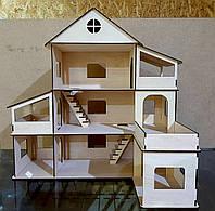 Кукольный домик 3 этажа., фото 1