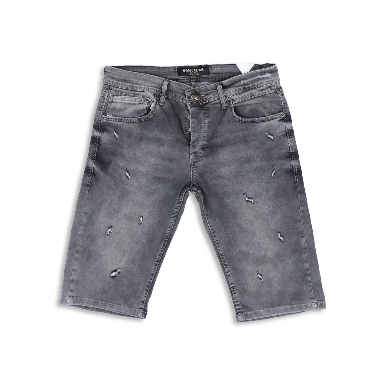 Бриджи джинс серый MARIO FUME 29(Р) 0125