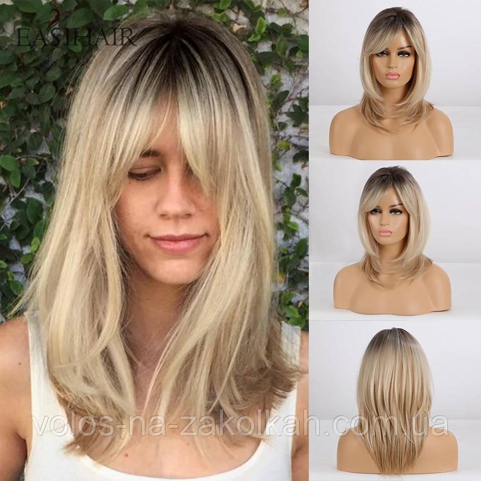 Перуку блондинки перуку блондинки по плечі