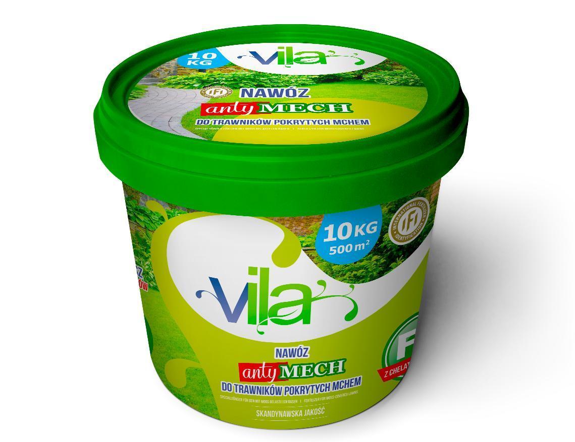 Удобрение для газона от мха Vila Yara 10кг