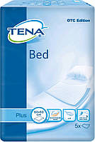Tena пеленки одноразовые впитывающие Bed Plus 60x60 см 5 шт