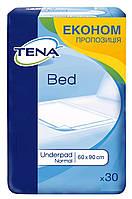 Tena пеленки одноразовые впитывающие Bed Normal 60x90 30 шт