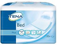 Tena пеленки одноразовые впитывающие Bed Plus 40x60 см 35 шт