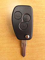 Корпус ключа запалювання - 3 кнопки KANGOO ART