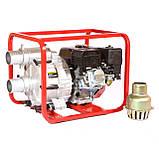 Мотопомпа бензиновая WEIMA WMPW80-26 для грязной воды (78 куб.м/час), фото 5