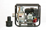 Мотопомпа бензиновая WEIMA WMQGZ80-30 (80 мм, 60 куб.м/час), фото 3