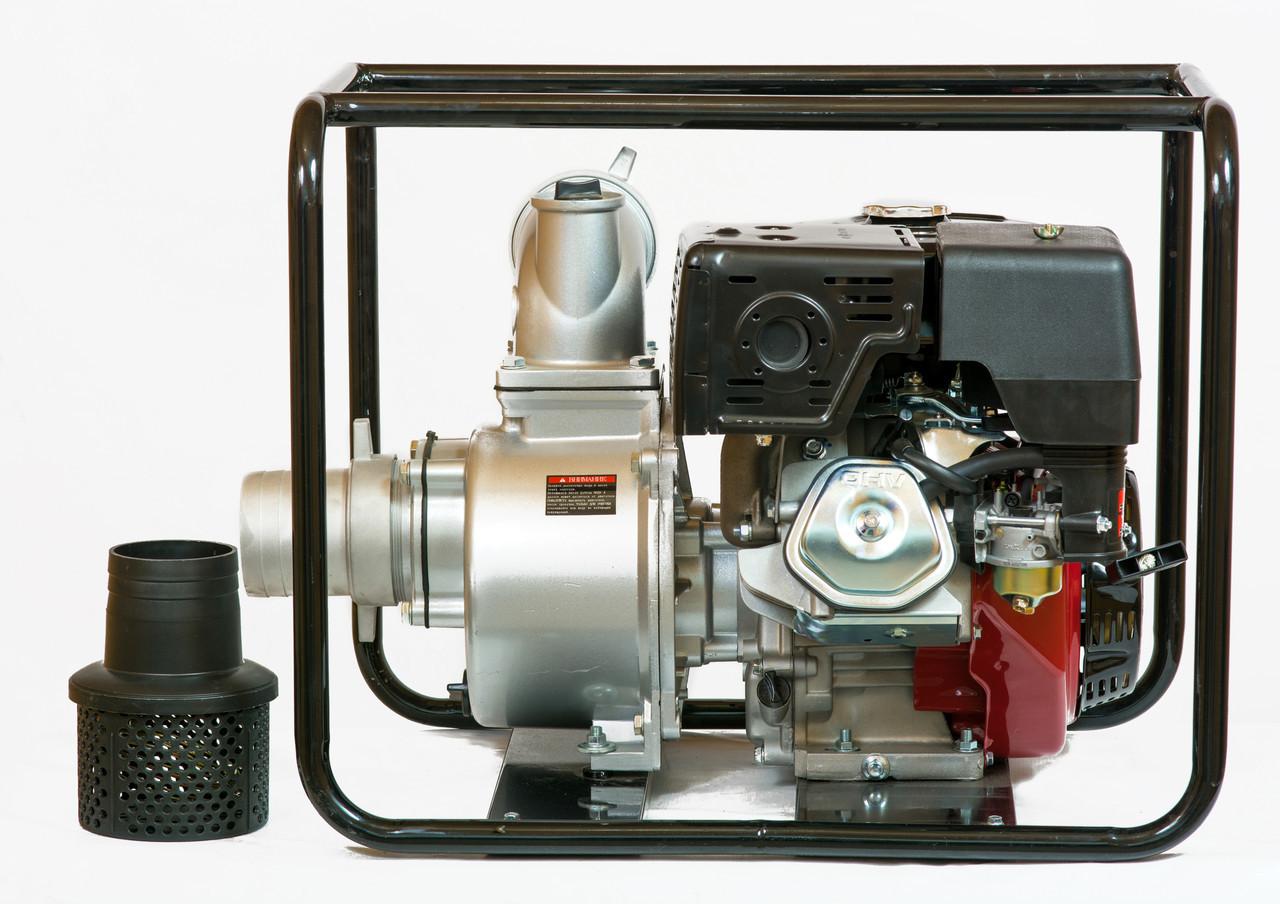 Мотопомпа бензиновая WEIMA WMQGZ100-30 (96 куб.м/час)