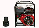Мотопомпа бензиновая WEIMA WMQGZ100-30 (96 куб.м/час), фото 2