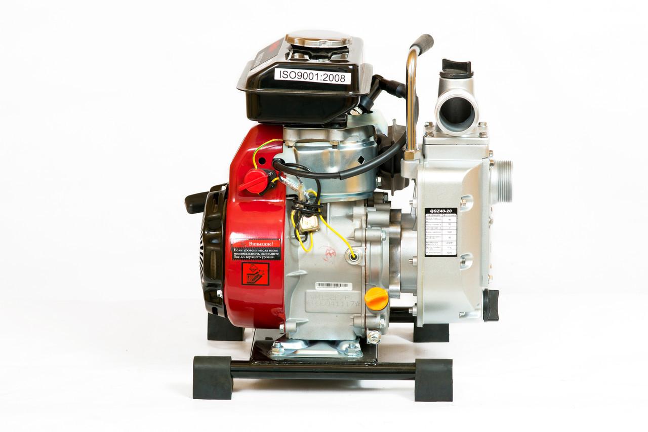 Мотопомпа бензиновая WEIMA WMQGZ40-20 (40мм, 27 куб.м/час)