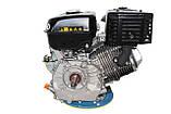 Двигатель бензиновый GrunWelt GW460F-S (18 л.с.), фото 5