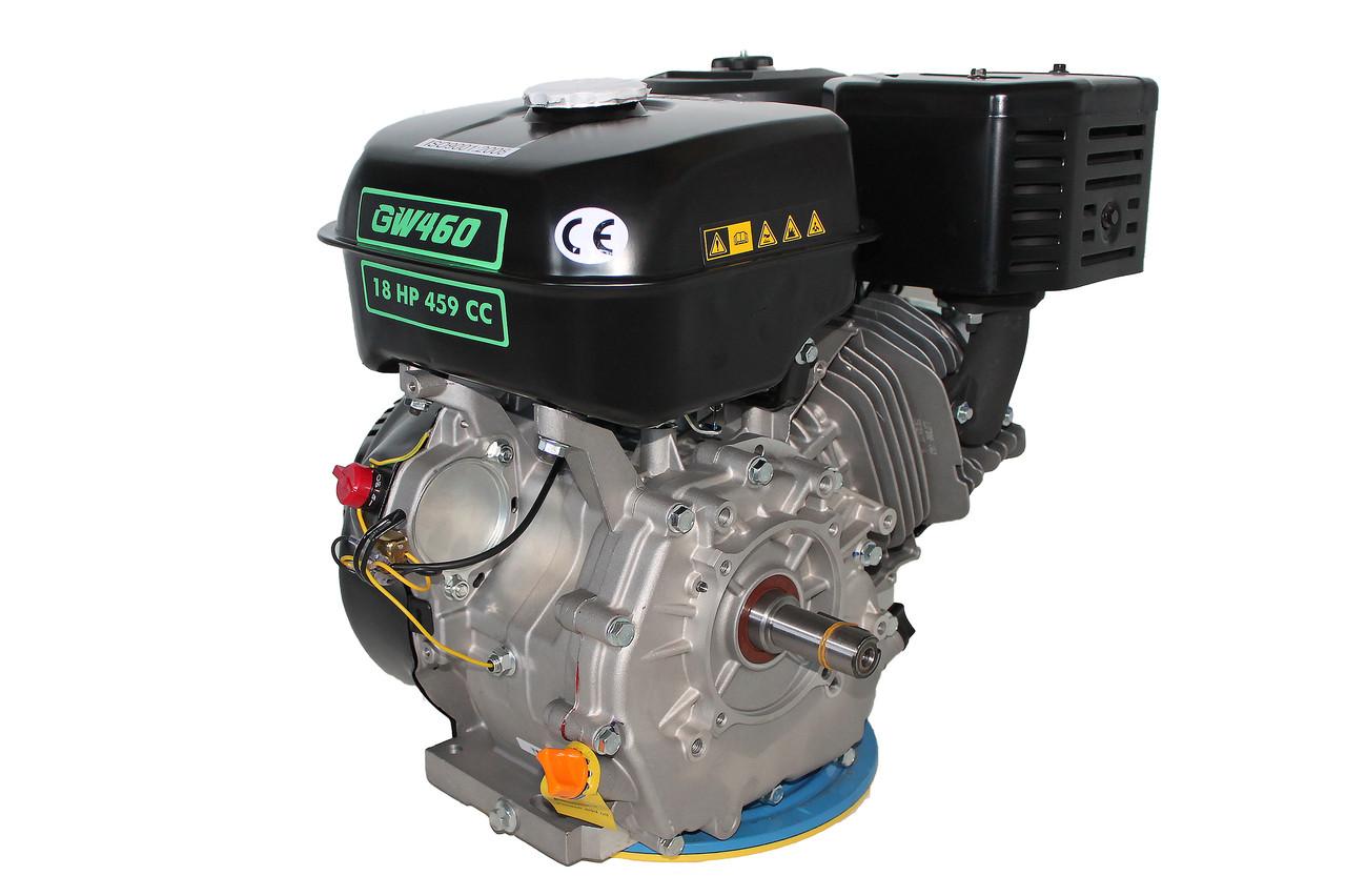 Двигатель бензиновый GrunWelt GW460F-S (18 л.с.)