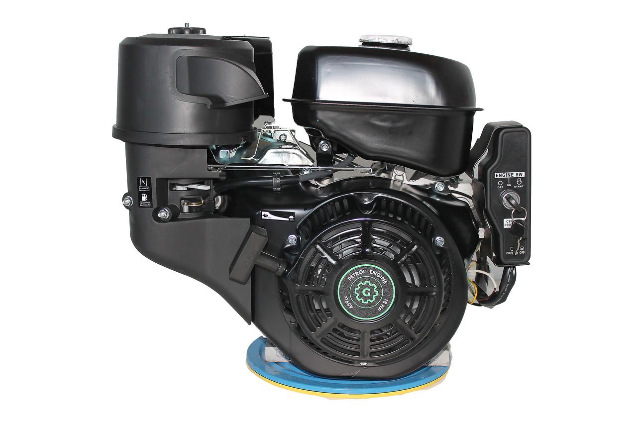 Двигатель бензиновый GrunWelt GW460FE-S (18 л.с., эл.стартер)