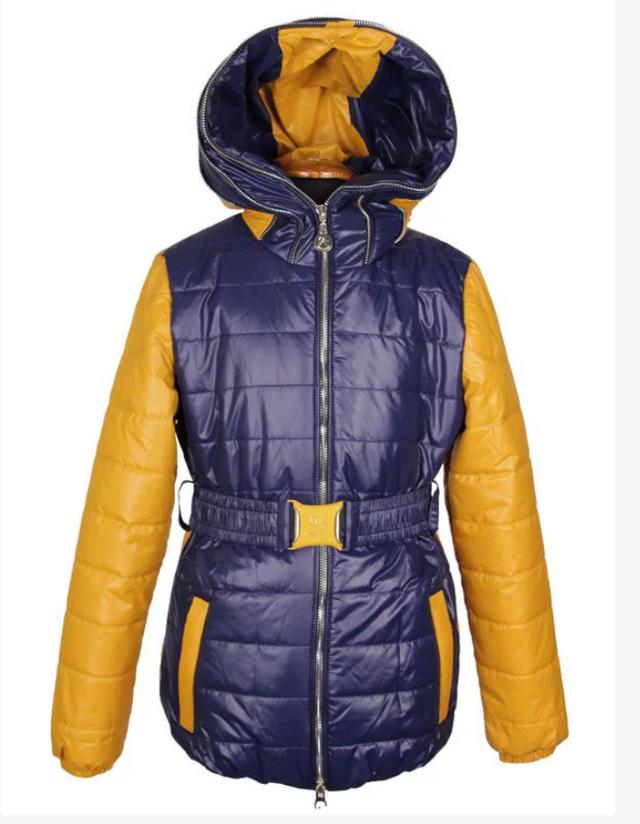 Стильная модная куртка для девочки 130-150 рост