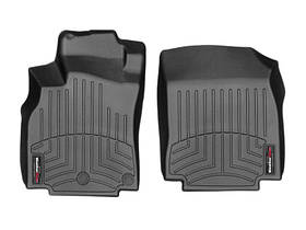 Ковры резиновые WeatherTech Renault Megane  2008-2015 передние черные