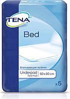 Tena пеленки одноразовые впитывающие Bed Normal 60x60 5 шт