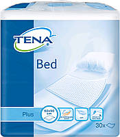 Tena пеленки одноразовые впитывающие Bed Plus 60x90 см 30 шт