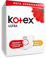 Кotex Ultra прокладки гигиенические Normal (4 капли) 40шт