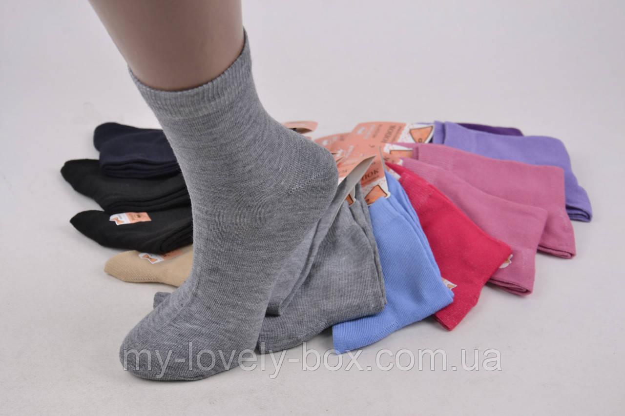 "ОПТОМ.Детские носки на девочку ""КОРОНА"" ХЛОПОК (C3118/31-34) | 12 пар"