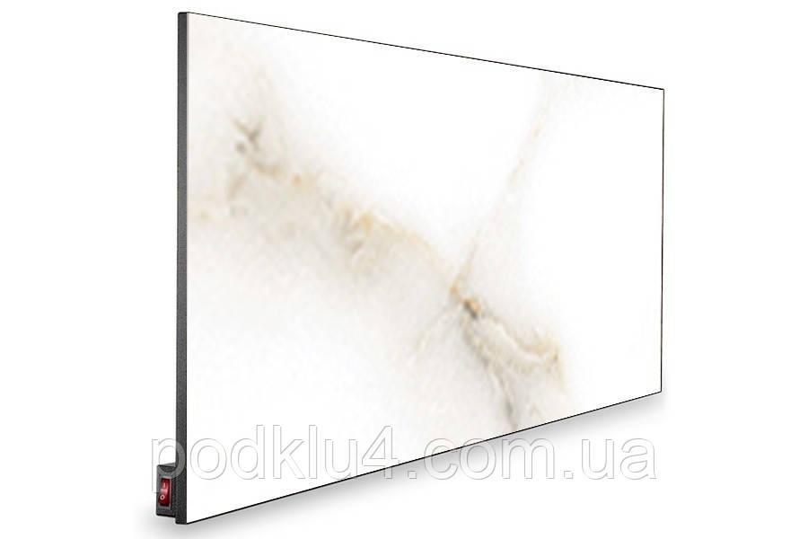 Керамическая панель Novaterm 12-NT1400Rp Белый мрамор Carrara с программатором