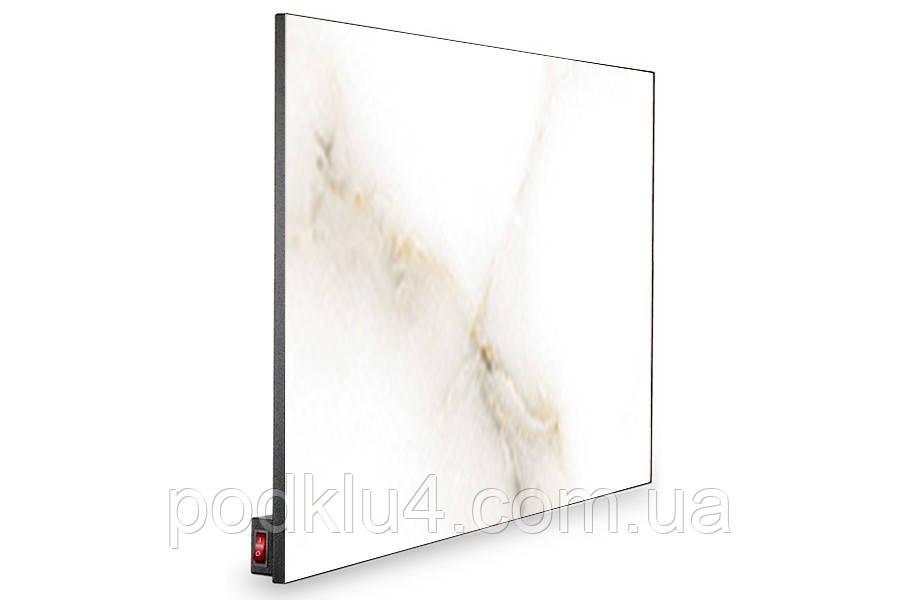 Керамическая панель Novaterm 6-NT700Rp Белый мрамор Carrara с программатором