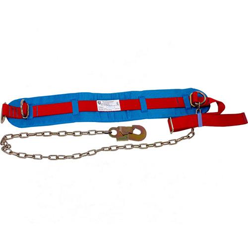 Пояс предохранительный безлямочный строп цепь