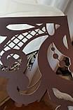 Комплект молочных панелек с ажурным шоколадным  низом, фото 2
